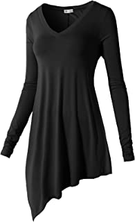 H2H Womens Casual Dress Tank Top Tunic Top Loose Fit for Leggings of Various Styles