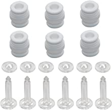 SAMLOO Damping Rubber Balls and Anti-Drop Securing Pins Kit for DJI Phantom 3 / Phantom 2 Professional Advanced Gimbal Mount