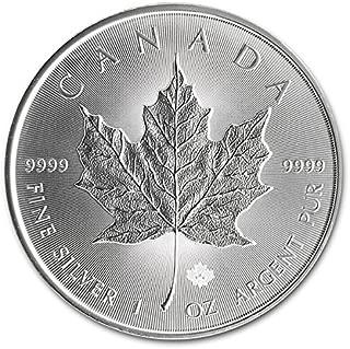 2014 Canada 1 Oz Silver Maple Leaf Coin 9999 Silver $5 Brilliant Uncirculated