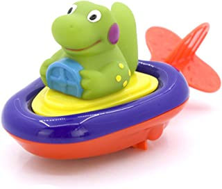 Pull String Crocodile Animal Bath Toy Educational Water Toys Gift for Kids's Water Party and Bathtub Fun (Random Color)