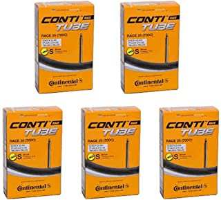 Continental Race 28 700 x 20-25c Bike Inner Tubes - Presta 80mm Long Valve by by
