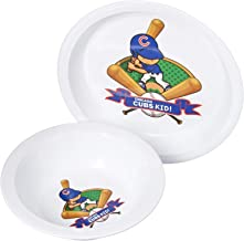 Baby Fanatic Plate & Bowl Set, Chicago Cubs