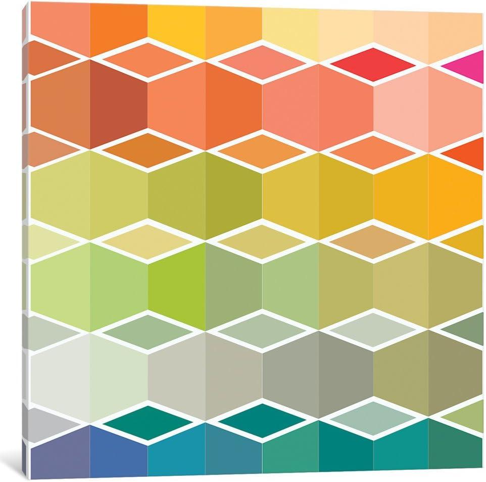 Amazon Com Icanvasart Sds76 1pc3 37x37 Icanvas Flanneur Ii Galería Envuelta En Lienzo Impreso Por Sylvie Demers 12 X 12 Home Kitchen
