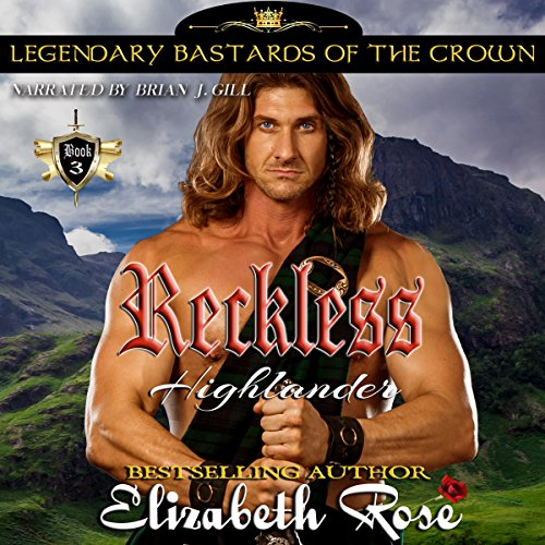 Reckless Highlander audiobook cover art