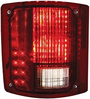 United Pacific 1973-87 Chevy GMC Truck LED Sequential Tail Light Without Trim, Driver Left Hand