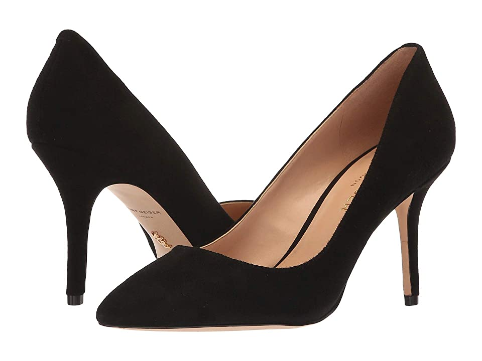 Kurt Geiger London Mayfair 85 (Black Suede) Women