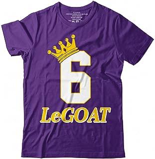 LeGOAT James No.6 LA Basketball King Player Jersey Customized Handmade T-Shirt Hoodie_Long Sleeve_Tank Top_Sweatshirt