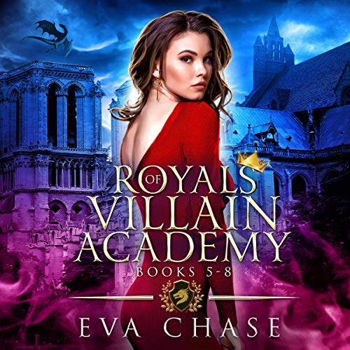Royals of Villain Academy: Books 5-8