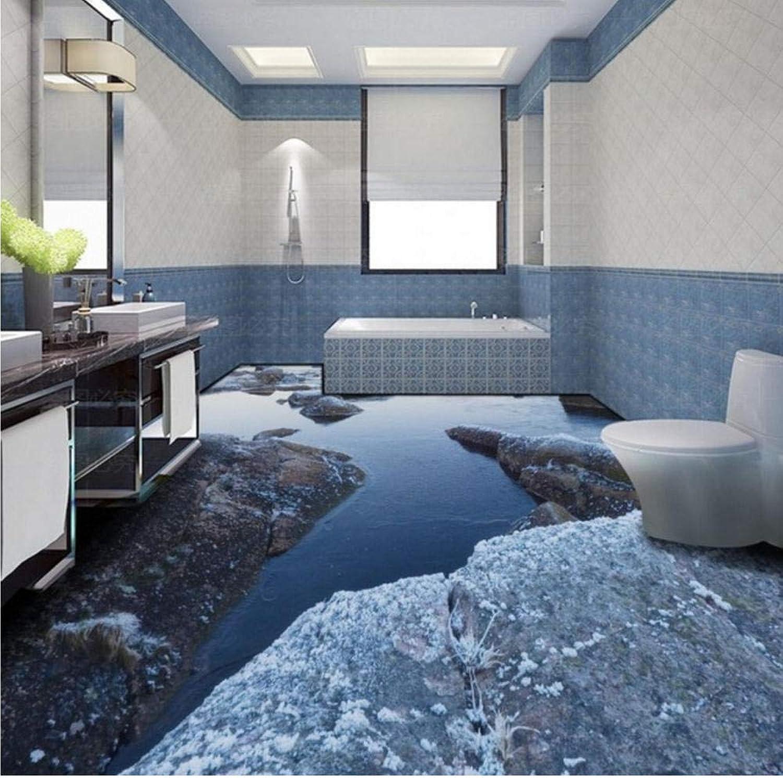 hasta 42% de descuento Lvabc Adecuado de alta definición de de de agua de piedra 3D estéreo salón bao piso decoraciónpapel tapiz mural-200X140CM  Garantía 100% de ajuste
