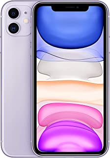 Apple iPhone 11 With facetime Physical Dual SIM - 64GB, 4G, LTE, Purple, International Version