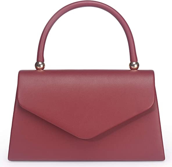 1950s Handbags, Purses, and Evening Bag Styles Womens Classic Envelope Evening Bag WALLYNS Wedding Prom Party Clutch Handbag Purse  AT vintagedancer.com