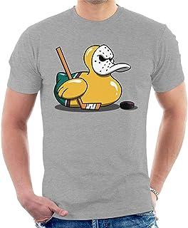 """Cloud City 7 Mighty Ducks Cute Rubber Duck Goalie Men""""s T-Shirt"""