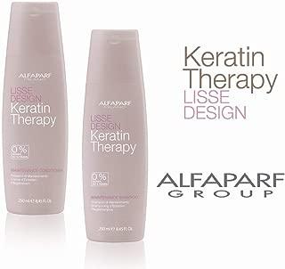 AlfaParf Milano Lisse Design Maintenance Shampoo and Conditioner Duo, 8.45 Oz
