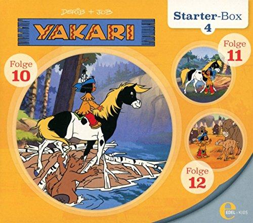 Yakari - Starter-Box 4 - Folge 10 bis 12, Die Original-Hörspiele zur TV-Serie