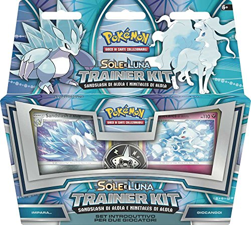 Pokemon - Sole E Luna Trainer Kit 11 Alolan Sandslash & Alolan Ninetales (1 Accessorie)