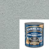 Hammerite 61755020150 M127433-Hammerite Liso 750 Ml Gris-Plata, Multicolor