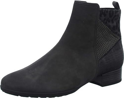 Gabor chaussures Bottines Décroché pour Femme Comfort, Confortable en Nubuck, modèle 32.716 30