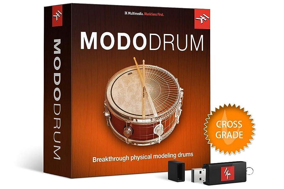 観光に行くカバー談話IK Multimedia MODO DRUMクロスグレード初回限定版 フィジカル?モデリング ソフトウェア ドラム音源【国内正規品】MD-DRUM-UCD-IN-LTD