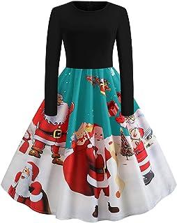 97fdc576d1c FeelinGirl Femme Robe Noel Femme Robe de Noel Robe Noel Femme Robe Noel  Fille en Dentelle