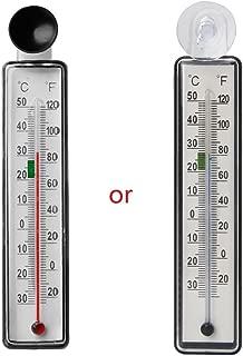 12 V Rosso veh/ículos zijianZZJ term/ómetro term/ómetro para Interior y Exterior 2019 Mini Pantalla Digital LCD para Coche Sensor de Cable de 1,5 m
