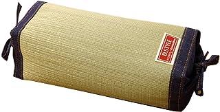 イケヒコ 枕 まくら い草枕 消臭 ピロー 国産 デニム 高さ調整 マイル 角枕 約30×15cm 中材:ポリエチレンパイプ #3644819