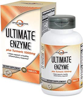 Optim Nutrition Ultimate Enzyme Plus Turmeric 1000mg (90 Tablets)