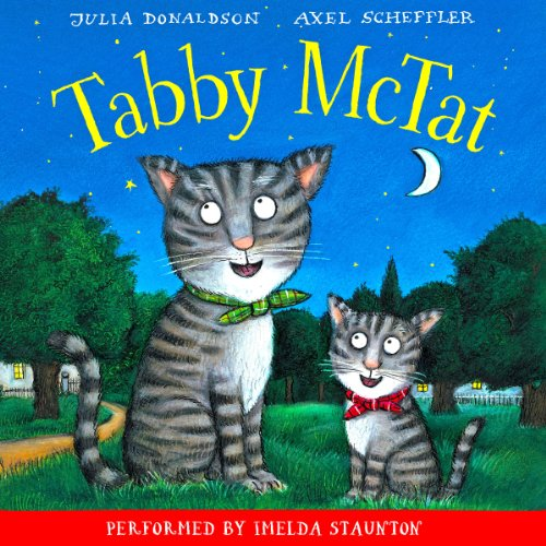 Tabby McTat audiobook cover art