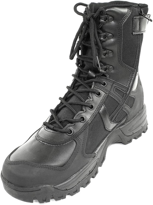 Mil-Tec Stiefel Patrol One Zip, schwarz schwarz schwarz 42 (9) de3