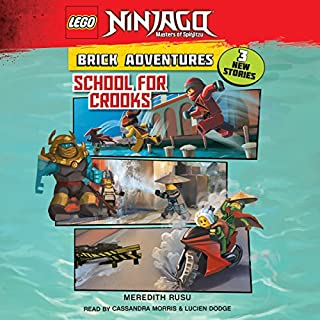 School for Crooks     LEGO Ninjago: Brick Adventures, Book 2              Autor:                                                                                                                                 Meredith Rusu                               Sprecher:                                                                                                                                 Cassandra Morris,                                                                                        Lucien Dodge                      Spieldauer: 33 Min.     Noch nicht bewertet     Gesamt 0,0