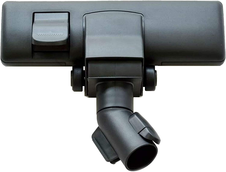 Maxorado - Boquilla de aspiradora conmutable compatible con Miele con 2 ruedas SBD 285-2 285-3 265-3 650 SBD285 SBD650 Compact Classic Blizzard Swing H1 C1 C2 C3 cabezal S8: Amazon.es: Hogar