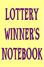 Lottery Winner's Notebook - Exercises to Attract Good Luck: Funny gift idea for man, woman, boy, dad, mom, grandfather, fr...