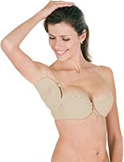Kleinert's Ready Dress Shields Snaps onto Your Bra Straps – Convenient Underarm Protection.