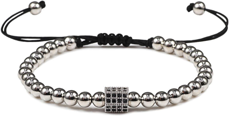 GTHT Men Bracelets Fashion Bracelet Trendy Store 5mm Cheap bargain H Beads Charm