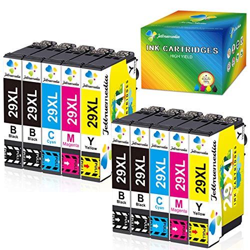 29XL - Cartuchos de tinta compatibles con Epson Expression Home XP-342 XP-245 XP-442XP-235 XP-245 XP-247 XP-255 XP-332 XP-335 XP-345 XP-352 XP-355 XP-432 XP-445 XP-452 (10 unidades)