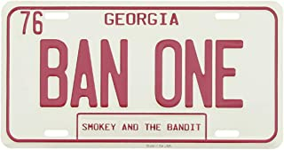 Smokey and The Bandit BAN ONE Metal License Plate US Made Car Truck Auto Tag
