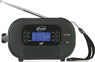 Freeplay Encore Buddy Self-Powered Radio with Flashlight (Black)