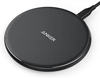 Anker Wireless Charger, Qi-Certified PowerPort Wireless 5 Pad, Ultra-Slim Wireless Charger for iPhone XS/XS Max/XR/X/8, Samsung Note 5/S9/S9+, Google Pixel 3/3XL and Other Devices (No AC Adapter)