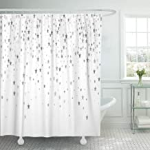 Emvency Fabric Shower Curtain Curtains with Hooks Tan Girl Sexy Young Woman with Finger in Mouth Glasses Lick Tits Adult Attractive Beautiful Beauty 72