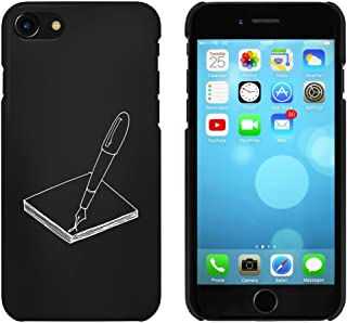 Black 'Pen & Paper' Case for iPhone 7 (MC00059901)
