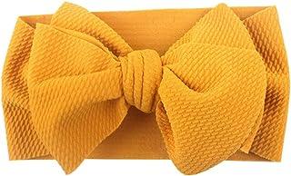 Enerhu 6 PCS Baby Girl Headbands Kids Hairbands Headband for Toddlers Newborn Beautiful Bow Tie