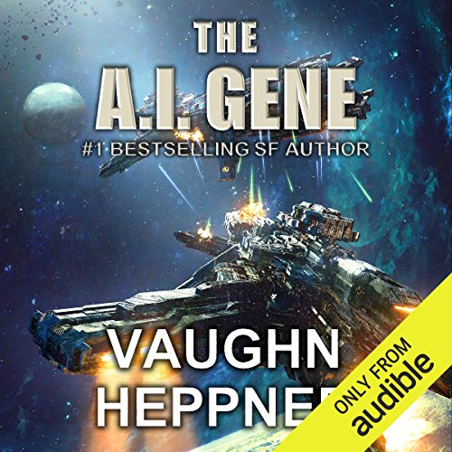 The A.I. Gene audiobook cover art