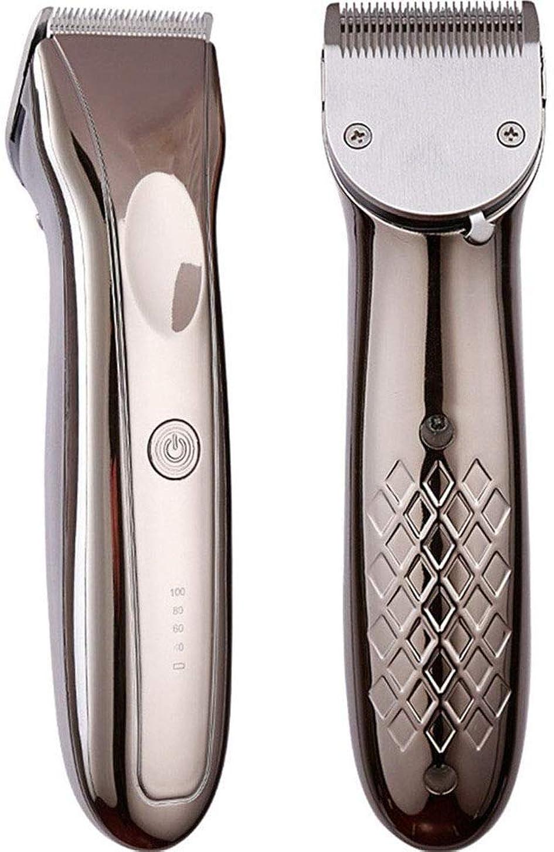 タックル隣接良性バリカンはLEDのトリマーの人0.8-2.8mmの電気ステンレス鋼の打抜き機の理髪師の散髪用具を置きました
