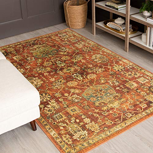 Brown Floral Area Rugs For Sale