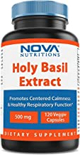 Nova Nutritions Holy Basil Extract 500 mg 120 Veggie Capsules