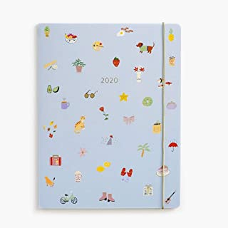 2020 Tiny Delights Jumbo Booklet Planner, by Waste Not Paper