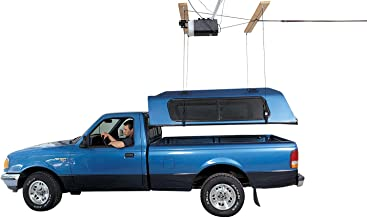 HARKEN Truck Hardtop Garage Storage Hoist | 8:1 Mechanical Advantage | Lift, Single-Person, Pulley, Compatible with Toyota, Ford, Chevrolet, Nissan