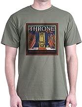 CafePress Throne Vintage Crate Label Dark T Cotton T-Shirt