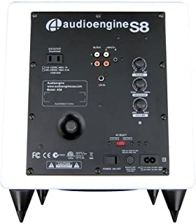 Audioengine S8 Powered Subwoofer (Hi-Gloss White)