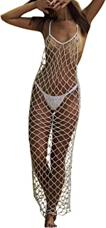 Women's Hollow Fishnet Beach Dresses Bikini Cover Up Net