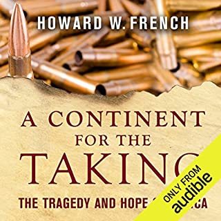 A Continent for the Taking audiobook cover art